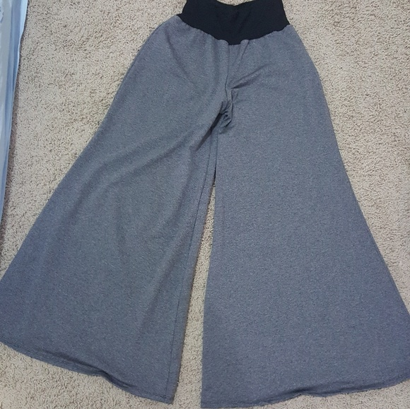 Pants - Imported full length ponte knit palazzos
